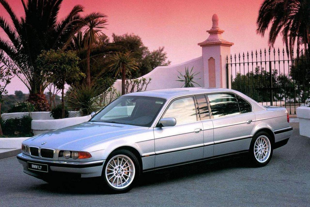 2001 Bmw 7 E38 L7 750ixl Bmw L7 2001 01