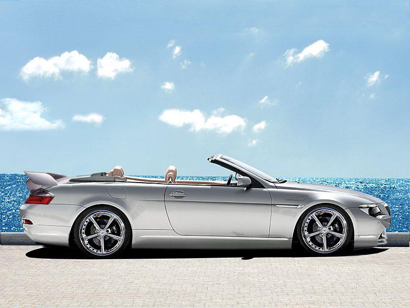 BMW 6 Cabrio - безупречное немецкое качество