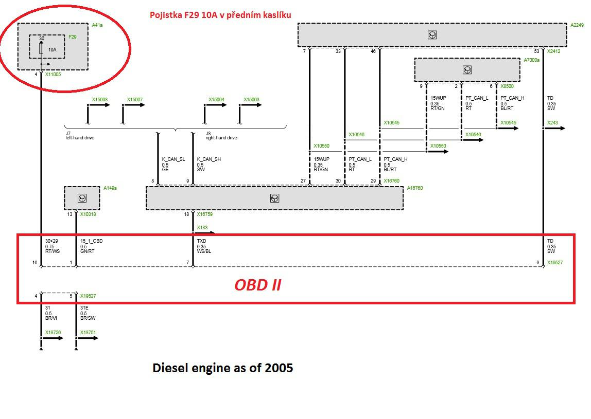 Fein Obd Schaltplan Fotos - Schaltplan Serie Circuit Collection ...