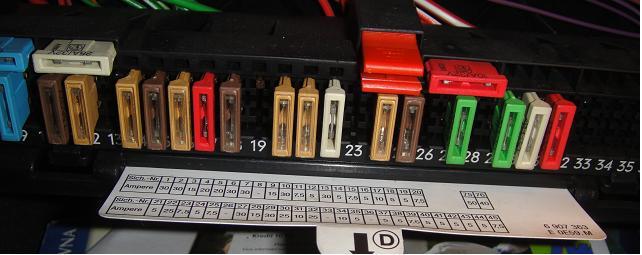E39 Vybiti Baterie Bezi Ventilatory 5 E39 F 243 Rum Bmw Klub